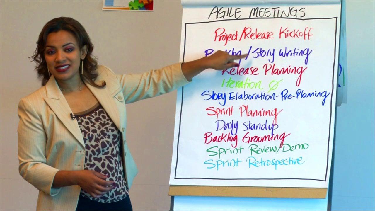 Facilitating the Top 10 Agile Meetings course image